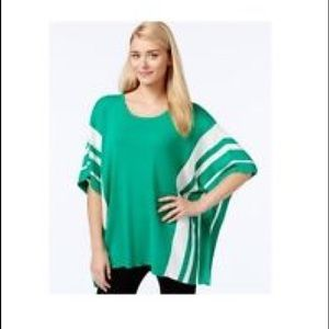 Calvin Klein poncho style pullover.  S/M Worn once